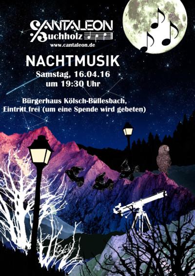 Cantaleon Konzert Nachtmusik